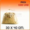 1000 Bolsas polipropileno sin cierre 30x40cm