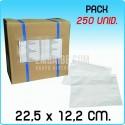 250 Envelopes Porta Documentos Transp. 22,5x12,2 cm