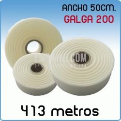Rollos de polietileno G200 50cmx413m