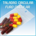 Bolsas autocierre taladro circular polietileno