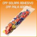 Bolsas polipropileno CPP solapa adhesiva