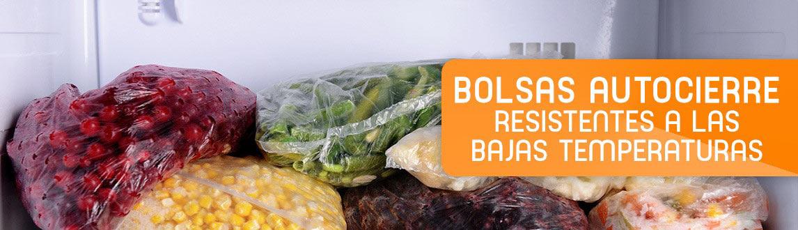 BOLSAS RESISTENTES A LAS BAJAS TEMPERATURAS